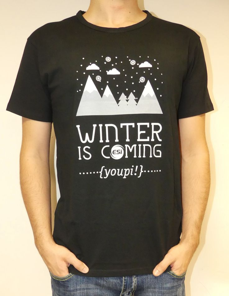 Tee Shirt ESI Wear - Winter is Coming