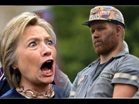 West Virginia Coal Miner Confronts Crooked Hillary; Obama's agenda...racketeering.