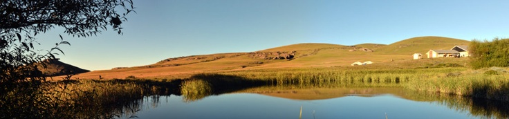 The 'Lodge' in Sehlathebe National Park - Lesotho Trails and adventures.