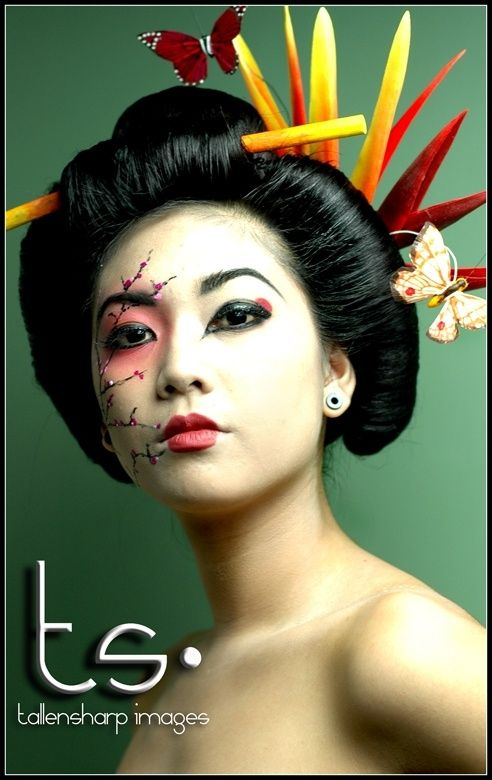 geisha makeup idea for halloween 9 best images about maquillaje desfile on abstract art