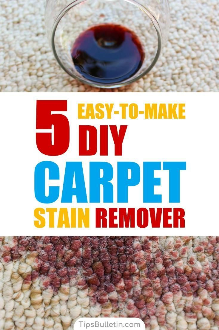 how to clean a rug white wine