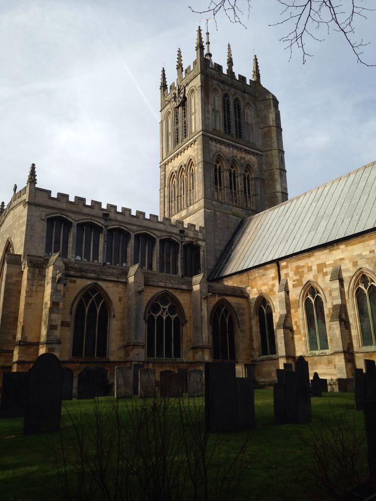 St. Mary's Church, Melton Mowbray, UK. Melton mowbray