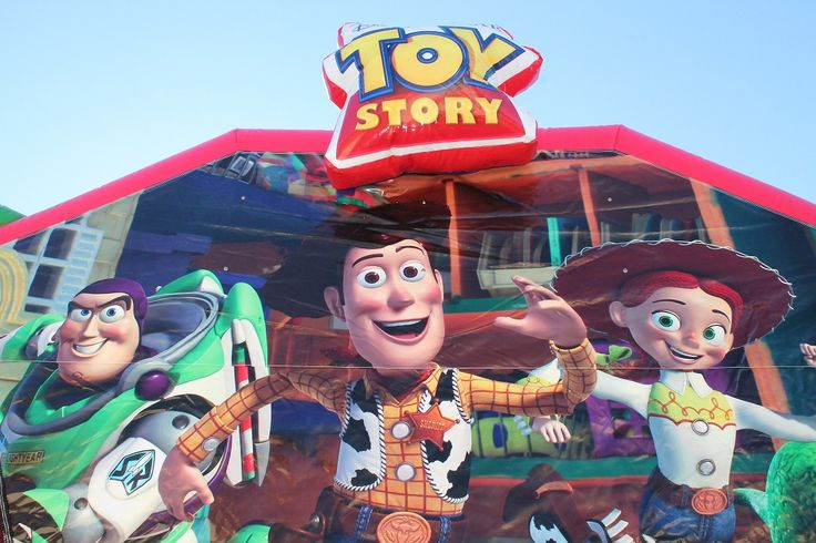 join woody and the gang for some jumping fun!!!