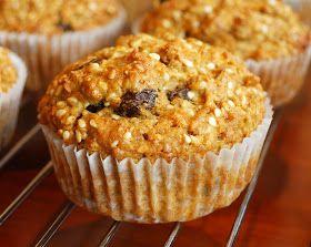 No' Muffins: Klimuffins med gulrot og rosiner