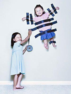 Hilarious portrait idea from photographer Jason's Lee.