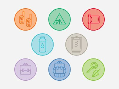 Afterschool Program Icons by Holly Kanning