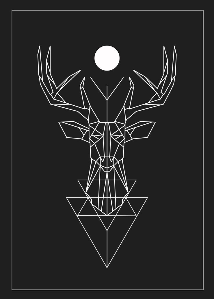 Deer ' Poster Design ' www.hoagard.com