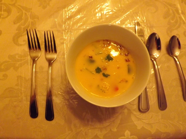 Butternut Squash Red Thai Curry Soup @Josephine Olivieri® Pasta http://ottawamommyclub.ca/trying-out-new-dishes-with-olivieri-fresh-cooking-sauces/
