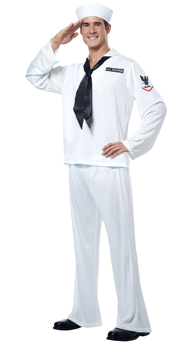 Men's Sailor Costume, Male Sailor Costume