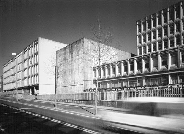 Escola de maxisterio | Fernando Moreno Barberá | Compostela 1969| Fonte: BLAT PIZARRO, Juan