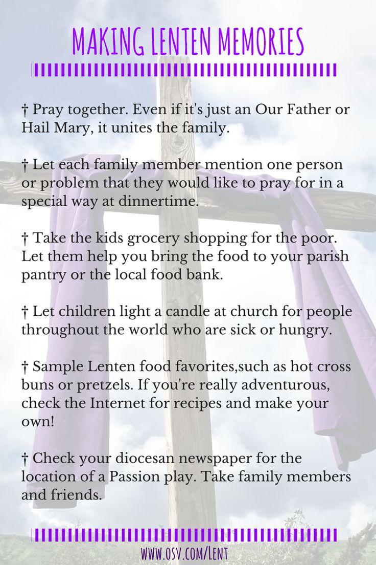 Explaining Lent To Catholic Kids