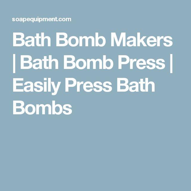 Bath Bomb Makers | Bath Bomb Press | Easily Press Bath Bombs