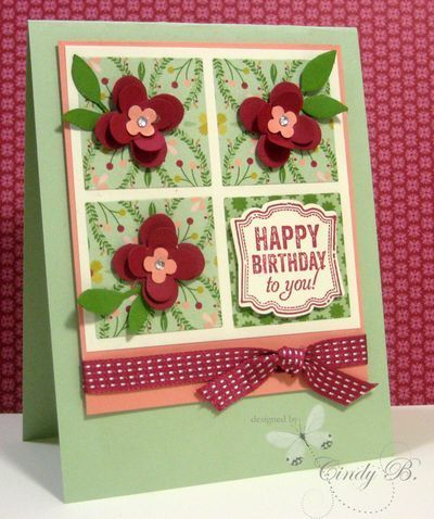 cindy beach stampin up | Stampin Up