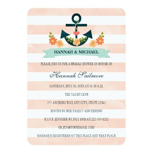 235 best Coral Green Wedding Invitation images on Pinterest