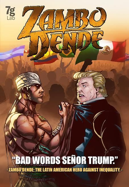 There are no differences or inequality for Zambo Dende,.. whoever expresses something bad about someone in the wrong way is expressing badly about a whole community. México is Latin America, wrong words Sr Trump""
