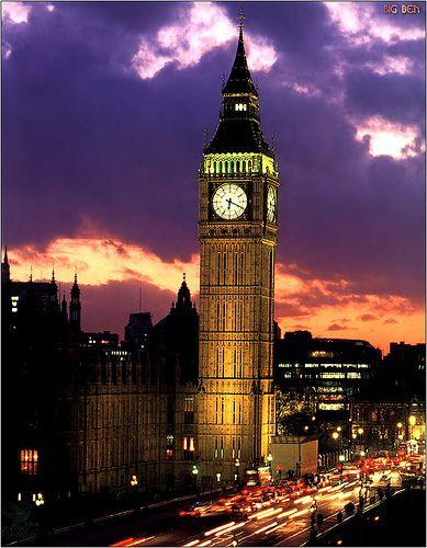 Big Ben London, England