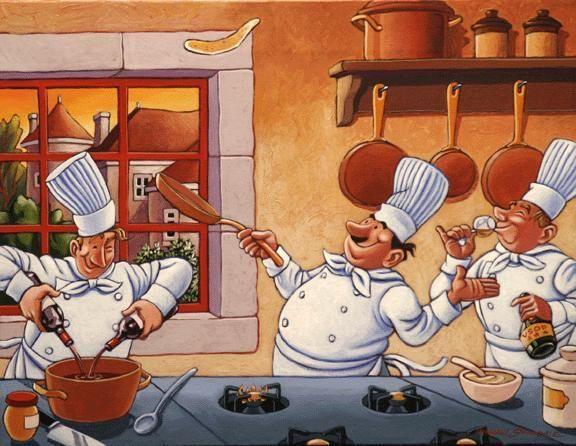 Открытки про кухню, мужчин февраля картинки