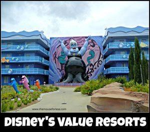 Walt Disney World Value Resorts