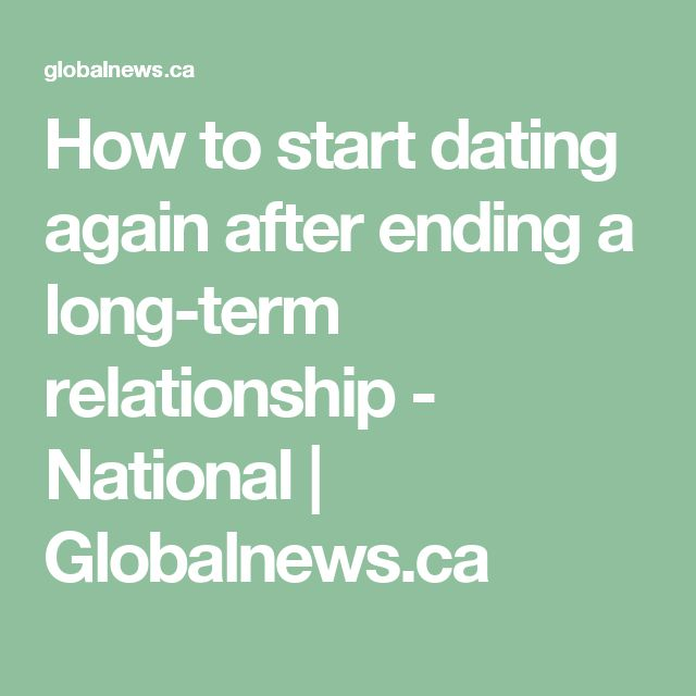 how long after a breakup to start dating