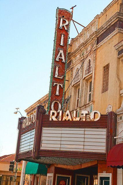 Rialto Theater - Pasadena, California ~ on Route 66