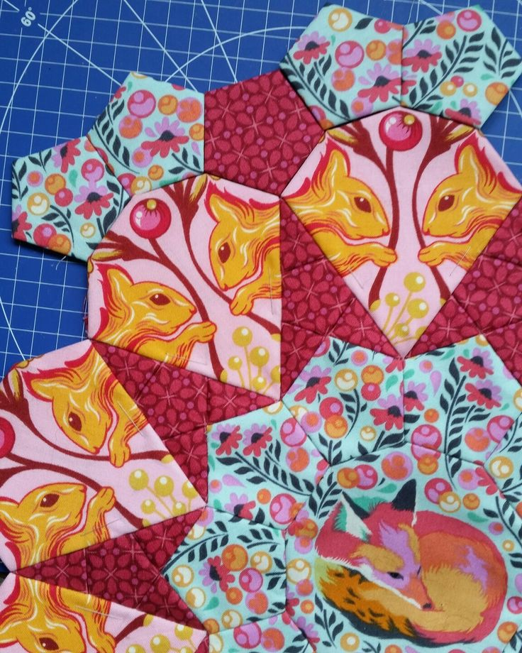 Composite Shapes For Tula Pink La Passacaglia Quilts To