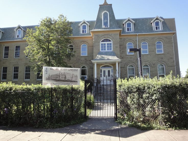 Mission-219 19 Ave SW Calgary. Sacred Heart Convent. Built in 1894