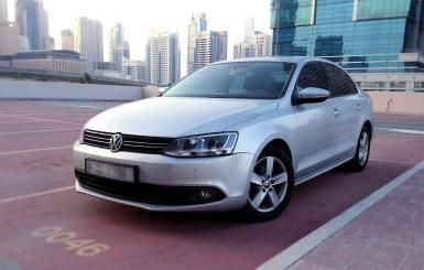 Volkswagen Jetta 2014 - 50,000 km - AED 74,000 - AED 47  http://www.autodeal.ae/used-cars-for-sale