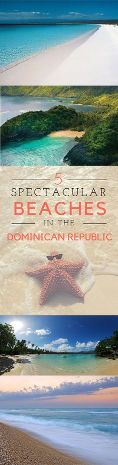 There are a lot of amazing beaches in the D.R. Let's visit 5 that are a bit more out of the usual!