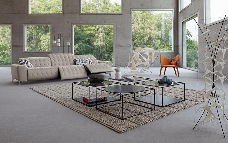 satellite sofa by sacha lakic design for roche bobois autumn winter collection 2014 photo. Black Bedroom Furniture Sets. Home Design Ideas