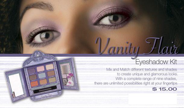 Prestige Cosmetics Vanity Flaire Eyeshadow Palette