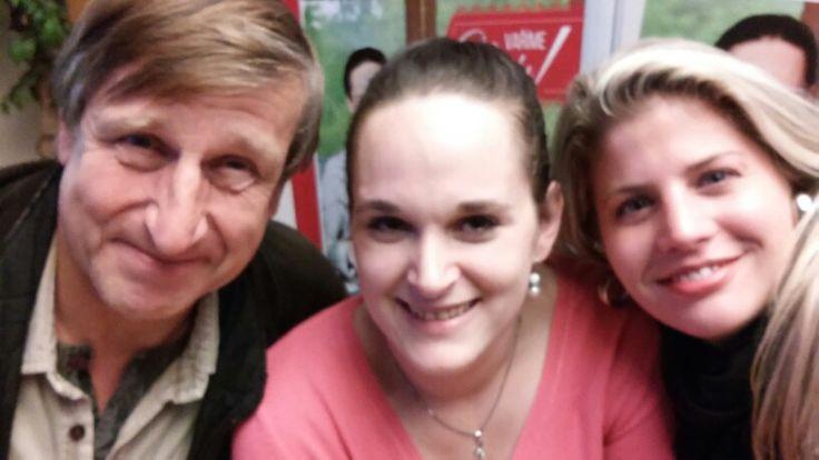 VYDRASELFIE S Vendy na autogramiadě v Brně