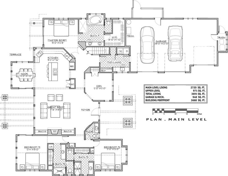 255 best New Home Plans images on Pinterest House floor plans