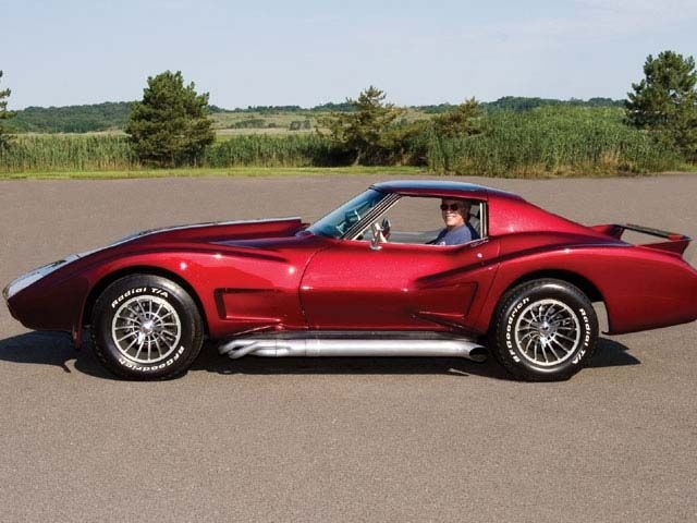 1975 Corvette with CanAm style wide body kit