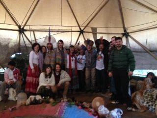 Temascal - índios Tupi Guarani e Amigos - Chácara da Zankara