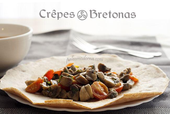 Crepes bretonas o galettes simples y deliciosas #glutenfree #dairyfree #paleo  Bretonne crepes aka galettes. Simply and delicious