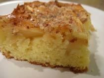Apple Cake with Nut Glaze - Recipe for Apple Cake - Apfelkuchen mit Guss