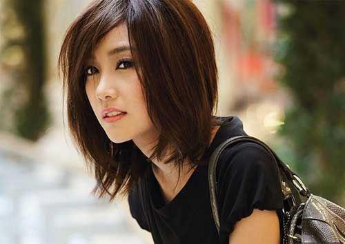 Edgy short hair