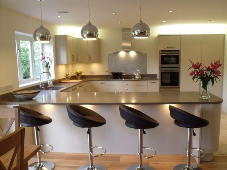 25 Best Ideas About Breakfast Bar Lighting On Pinterest Breakfast Bar Stools Kitchen Breakfast Bar Stools And Kitchen Peninsula Design
