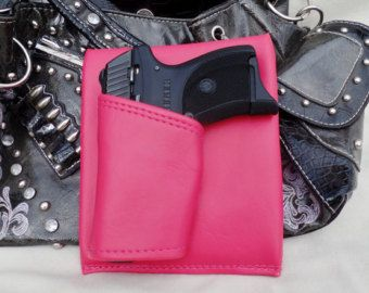 Mini Auto Black Concealed carry purse holster by CreativeConcealFind our speedloader now!  http://www.amazon.com/shops/raeind