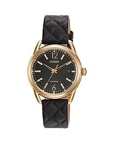 Citizen Ladies' Rose Gold-Tone Stainless Steel Drive From Citizen Watch