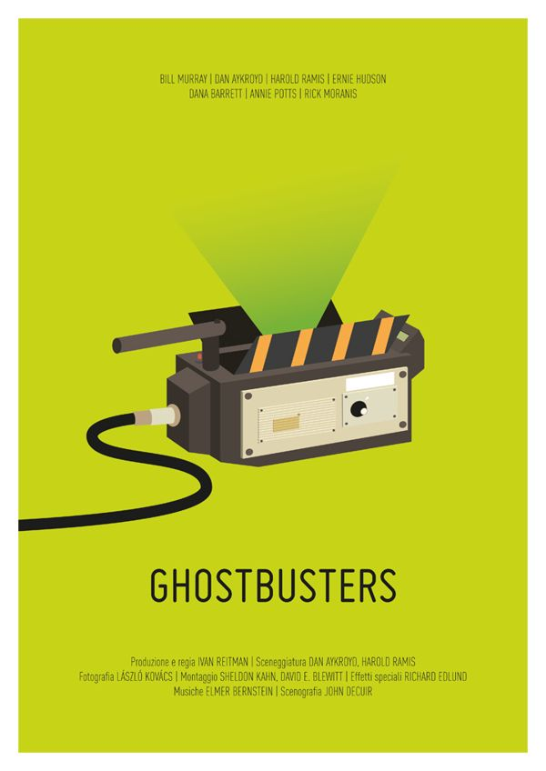 Minimal Movie Poster by Chiara Tovazzi, via Behance
