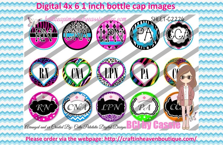 38 best 1 bottle caps images on pinterest bottle caps bottle cap 1 bottle caps 4x6 digital nurse c2226 please visit httpcraftinheavenboutiqueand use coupon code thankyou25 for 25 off your first order over 10 fandeluxe Image collections