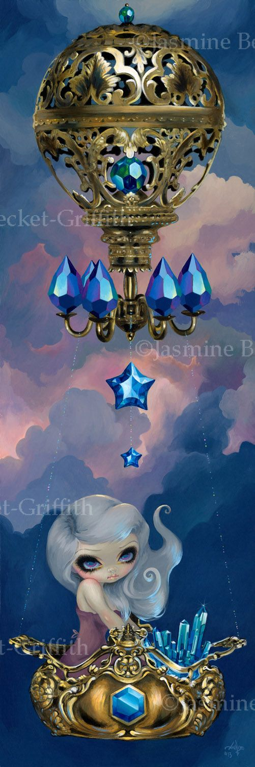 Crystal Chariot - Strangeling: The Art of Jasmine Becket-Griffith