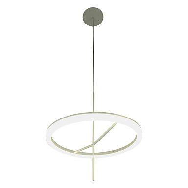 Modern Simple Design Mini Pendant LED Ring Ceiling Light – NOK kr. 875
