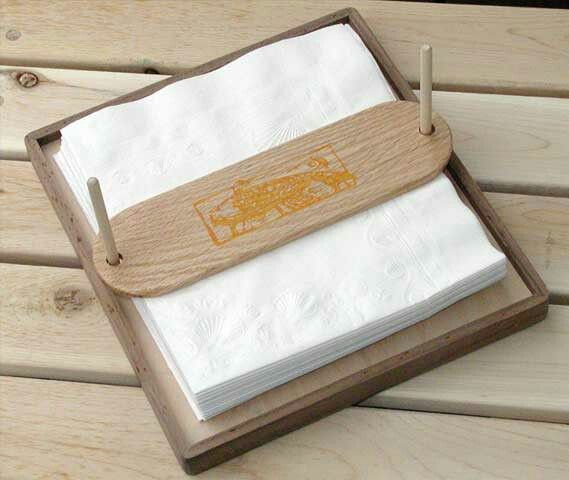 Country Napkin Holder