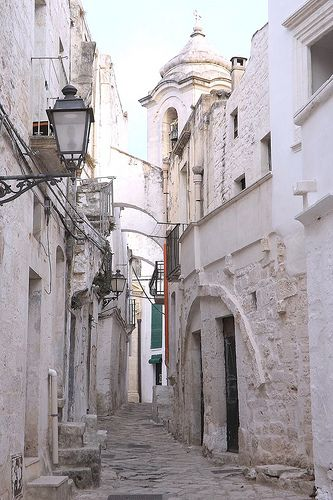 Ceglie Messapica (Brindisi). Italy