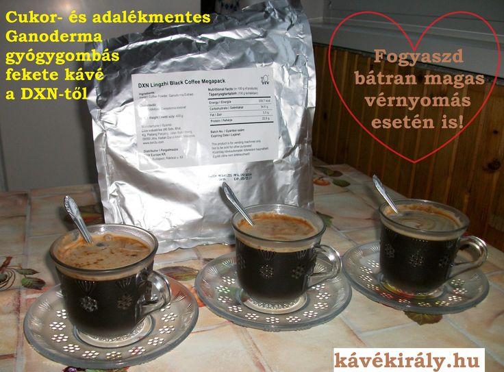 DXN Ganoderma kávé: A legkirályabb kávé a gyógynövények királyával