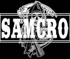 "Sam Crow (actually, SAMCRO) stands for ""Sons of Anarchy Motorcyle Club Redwood Original."" This is in reference to their being an original, or charter member of the Sons of Anarchy motorcycle club."