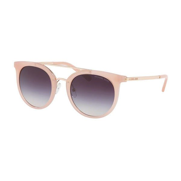 Michael Kors MK2056 ILA 324636 Sunglasses ($155) ❤ liked on Polyvore featuring accessories, eyewear, sunglasses, pale pink, michael kors, michael kors eyewear, michael kors sunglasses, plastic glasses and plastic sunglasses