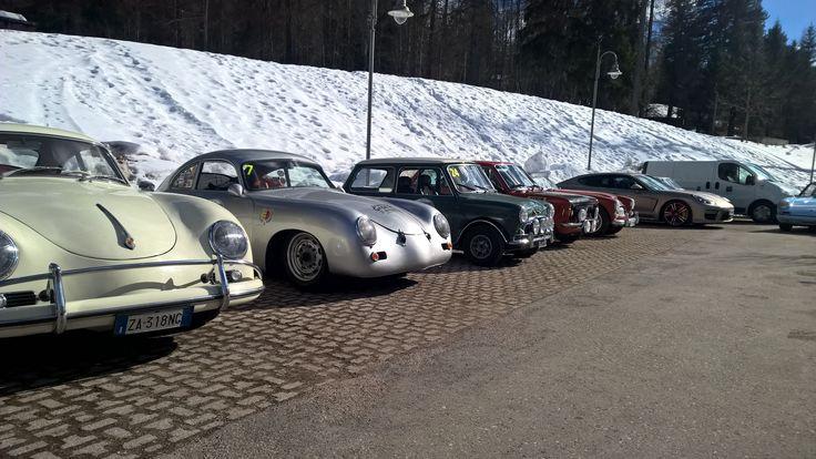 #WinteRace2015 #WinteRace #Vintage #Gara #Competition #Car #Auto #Cortina #Dolomiti #Cadore #Dolomites #Epoca